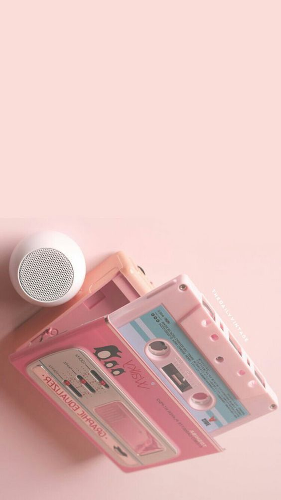 Cassette old school rose